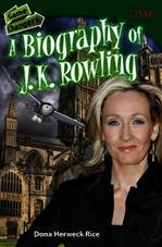 game changers a biography of j k rowling time for kids nonfiction readers
